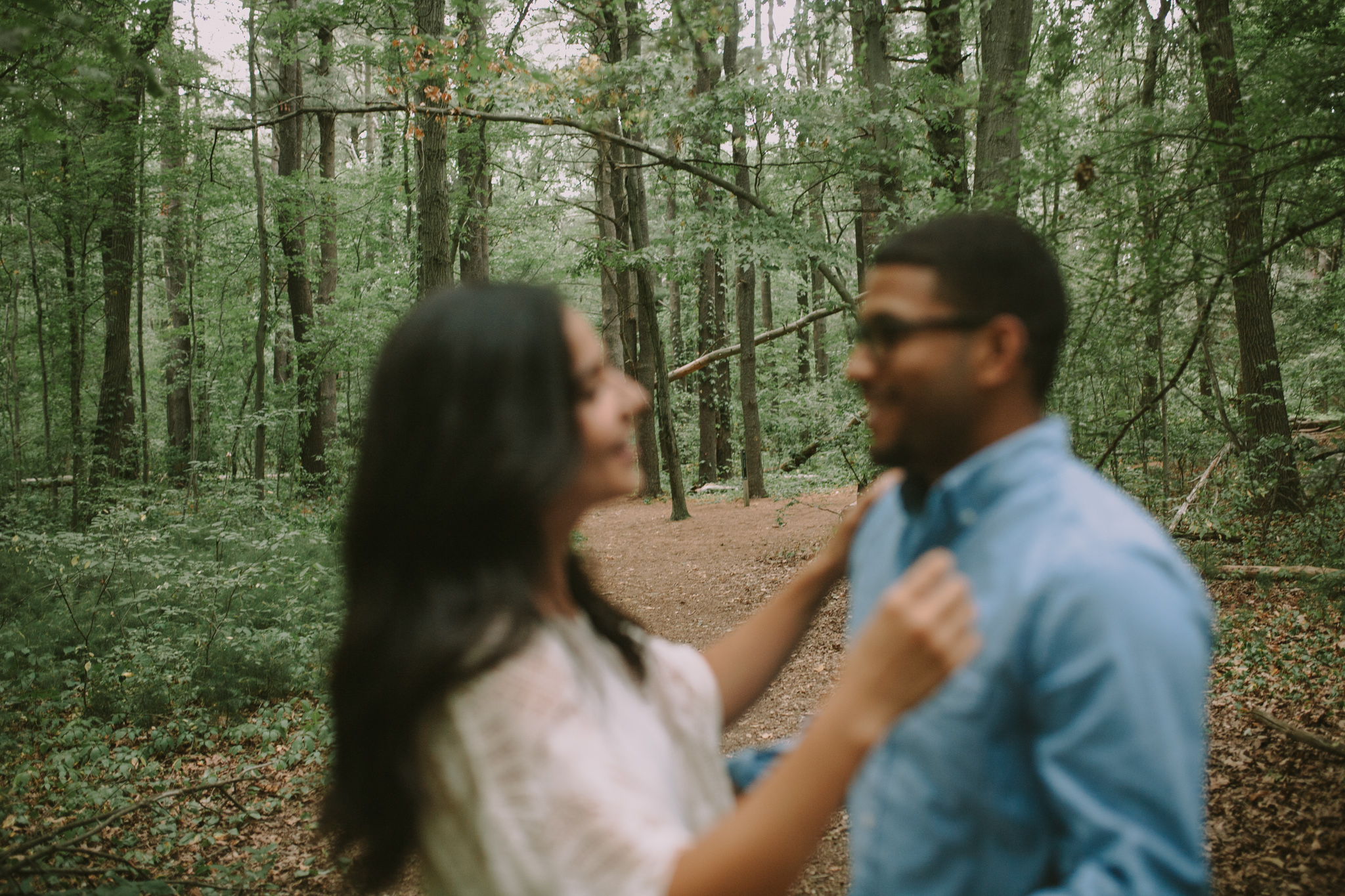 Jay & Val nature blur