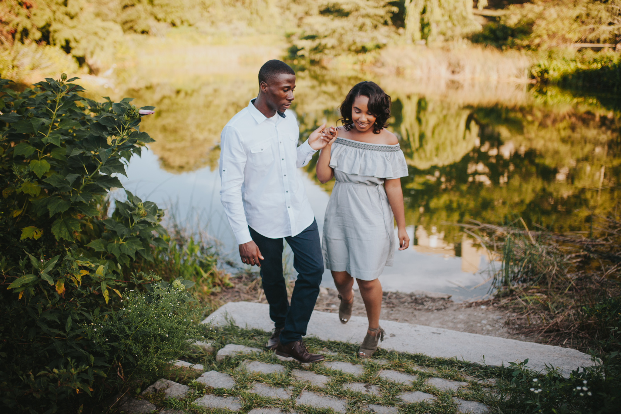 arnold arboretum engagement shoot