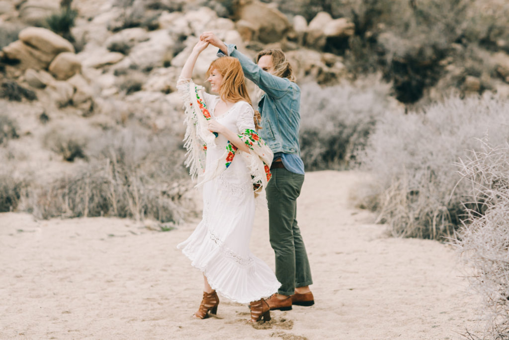 Dancing at Joshua Tree